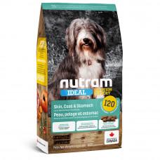 Nutram Ideal Solution Support Skin, Coat & Stomach корм для чувствительных собак с ягненком и рисом 11,4 кг.