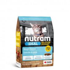 Nutram Ideal Solution Support Weight Control Natural Cat I12 корм для кошек (контроль веса) 1,13 кг.