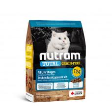 Nutram TOTAL GF Salmon & Trout Cat беззерновой корм для кошек с лососем и форелью 0,32 кг.