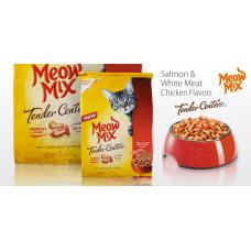 Meow Mix Tender Centers Salmon & Chicken сухой корм для кошек курица и лосось 0,175 кг