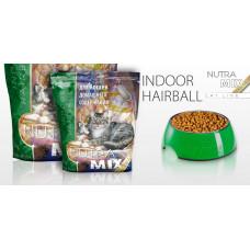 Nutra Mix Gold Indoor-Hairbool сухой корм для кошек комнатного содержания с функцией выведения комков шерсти 9,07 кг