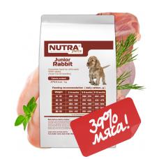 NUTRA pets Regular Junior Rabbit сухой корм для щенков 10 кг +Подарок!