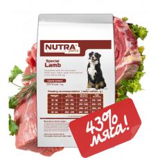 NUTRA pets Special Lamb  сухой корм для взрослых собак средних и крупных пород  10 кг + Подарок!