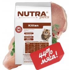 NUTRA pets Feline Kitten сухой корм для котят 5 кг + Подарок!