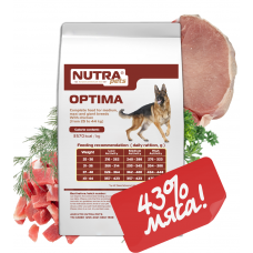 NUTRA pets Regular OPTIMA сухой корм для взрослых собак средних и крупных пород 10 кг + Подарок!