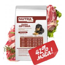 NUTRA pets Regular Junior OPTIMA сухой корм для щенков 10 кг + Подарок!