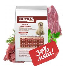 NUTRA pets Regular Junior Lamb&Rice сухой корм для щенков с ягненком 10 кг + Подарок!