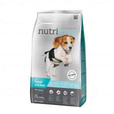 Nutrilove Junior Small & Medium сухой корм для щенков мелких и средних пород с курицей и рисом 8 кг