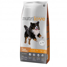Nutrilove Adult Large сухой корм для взрослых собак крупных пород с курицей и рисом 12 кг