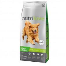 Nutrilove Senior сухой корм для пожилых собак с курицей и рисом 12 кг