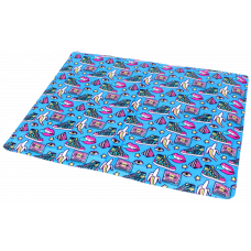 Охолоджуючий килимок Croci для собак, (принт Fresh Pop) 50х40см