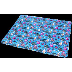 Охолоджуючий килимок Croci для собак, (принт Fresh Pop) 90х50см