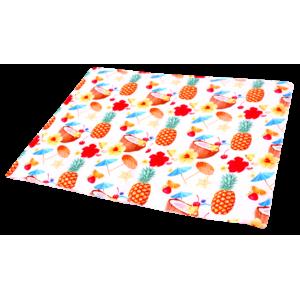 Охолоджуючий килимок Croci для собак, (принт Коктейль) 90х50см