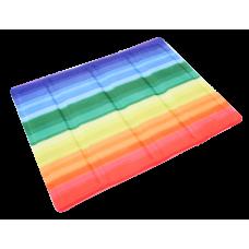 Охолоджуючий килимок Croci для собак, (принт Веселка) 50х40см