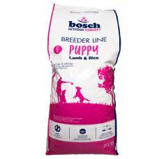 Bosch Breeder Puppy корм для щенков с ягненком и рисом 20 кг