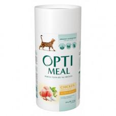 Optimeal сухой корм для котов с курицей 0,65 кг