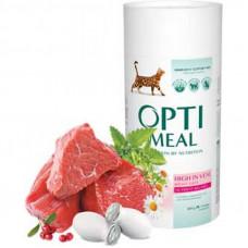 Optimeal сухой корм для котов с телятиной 0,65 кг