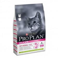 Pro Plan Delicate (Про План Деликейт) сухой корм для котов с чувствительной кожей ягненок  1,5 кг