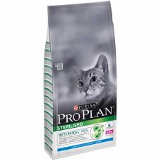 Pro Plan Sterilised сухой корм для кастрированных котов с кроликом 10 кг