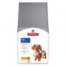 Hills SP Canine Adult Oral Care сухой корм для ухода за полостью рта у собак с курицей 5 кг