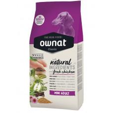 Ownat Mini Adult сухой корм для взрослых собак мелих и миниатюрных пород 4 кг