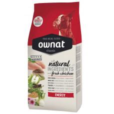 Ownat Energy сухой корм для взрослых собак с высокой физической активностью 4 кг