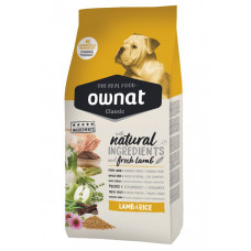 Ownat Lamb&Rice сухой корм для взрослых собак с ягненком и рисом 4 кг