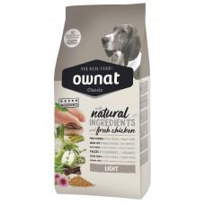 Ownat Light сухой корм для взрослых собак склонных к набору веса 20 кг