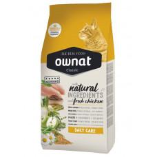 Ownat Daily Care сухой корм для взрослых кошек Ежедневная забта 1,5 кг