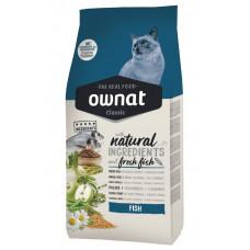 Ownat Fish сухой корм для взрослых кошек с рыбой 1,5 кг