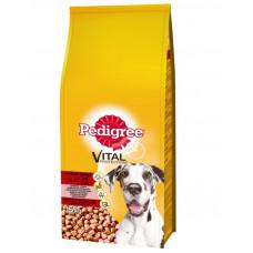 Pedigree (Педигри) сухой корм для собак больших пород с говядиной и рисом 15 кг.