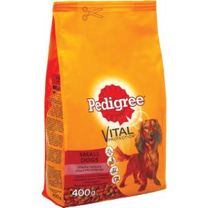 Pedigree (Педигри) сухой корм для собак мелких пород с говядиной и овощами 400 г