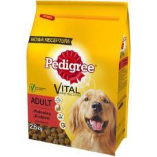 Pedigree (Педигри) сухой корм для взрослых с говядиной и птицей 2,6 кг