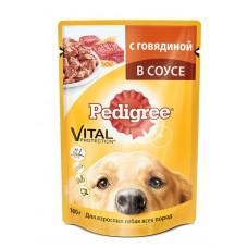 Pedigree (Педигри) консервы для взрослых собак всех пород с говядиной 100 г