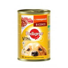 Pedigree (Педигри) консервы для взрослых собак всех пород с говядиной 400 г