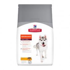 Hills SP Canine Adult Performance сухой корм для активных, охотничьих собак с курицей - 12 кг