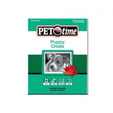 Pet Time Puppy корм для щенков с мясом птицы 15 кг