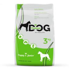 Platinum Dog полнорационный корм для щенков всех пород 3 кг