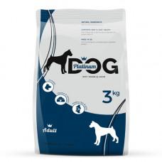 Platinum Dog полнорационный корм для взрослых собак всех пород 3 кг