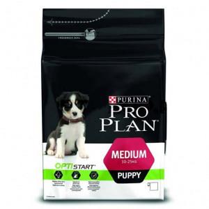 Pro Plan Puppy Medium сухой корм с курицей для щенков средних пород 3кг.