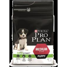 Pro Plan Puppy Medum корм c курицей для щенков средних пород 700г.