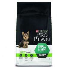 Pro Plan Puppy small & mini сухой корм с курицей для щенков малениких пород 3кг.
