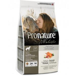 Pronature Holistic сухой корм для собак всех пород с индейкой и клюквой 13,6 кг