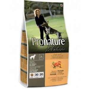 Pronature Holistic Adult Duck&Orange сухой корм для собак с уткой и апельсинами без злаков 13,6 кг