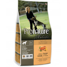 Pronature Holistic Adult Duck&Orange сухой корм для собак с уткой и апельсинами без злаков 2,72 кг