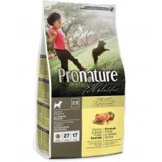 Pronature Holistic Puppy Chicken&Sweet Potato сухой корм для щенков всех пород с курицей и бататом 13,6 кг