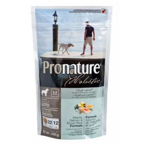 Pronature Holistic Adult Atlantic Salmon&Brown Rice сухой корм для собак всех пород с лососем и рисом 0,34 кг