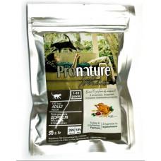 Pronature Holistic Adult Turkey&Cranberries сухой корм для котов всех пород с индейкой и клюквой 0,05 кг