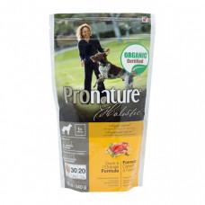 Pronature Holistic Adult Duck&Orange сухой корм для собак с уткой и апельсинами без злаков 0,1 кг