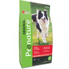 Pronature Original Lamb Peas&Barley сухой корм для собак взрослых собак с ягненком, горохом и ячменем 11,3 кг.